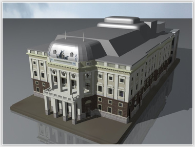 Slovak National Theatre 3D model