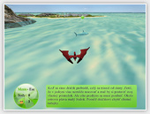 Island didactic computer game
