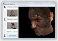 3D head model reconstruction from photographs